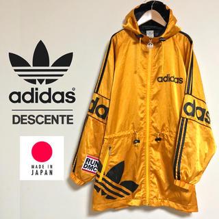 アディダス(adidas)のデサントアディダス VintageJacket ADIDAS ビッグトレフォイル(ナイロンジャケット)