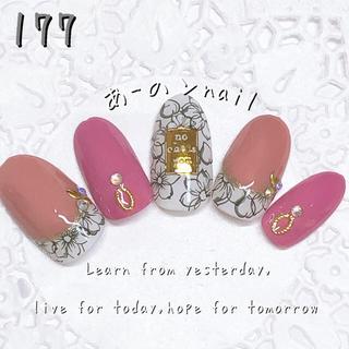 送料&カラー変更1色無料«177»ジェルネイルチップ♡*゜