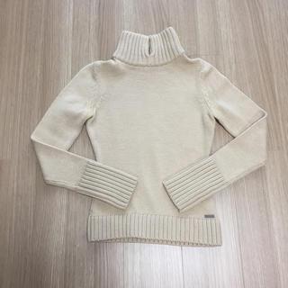 FOXEY - 【クリーニング済み】フォクシーブティックウール シルクタートルネックセーター