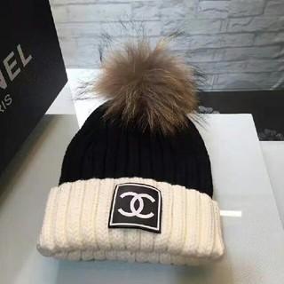 CHANEL - 新品 CHANEL綺麗 ☆ニット 帽子 美品 防寒