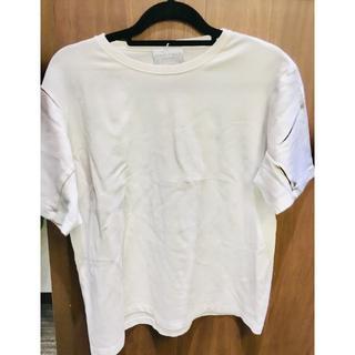 ノリタケ(Noritake)のNORITAKE 白Tシャツ(93015757)(Tシャツ/カットソー(半袖/袖なし))