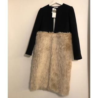 バーニーズニューヨーク(BARNEYS NEW YORK)の新品⭐️REYC  ファーコート   YOKO CHAN(毛皮/ファーコート)