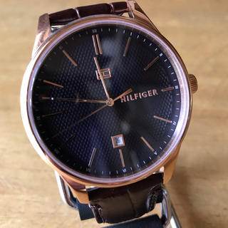 TOMMY HILFIGER - 新品✨トミーヒルフィガー 腕時計 メンズ 1791493 ブラウン