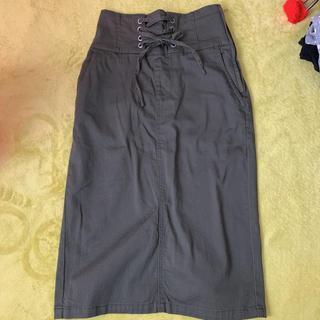 アベイル(Avail)の新品未使用【アベイル】レースアップスカート M(ひざ丈スカート)