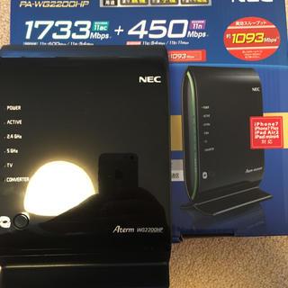 エヌイーシー(NEC)のNEC  WG2200HP(プロフ必須)(PC周辺機器)