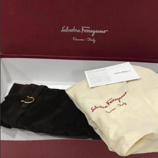 サルヴァトーレフェラガモ(Salvatore Ferragamo)の美品♡フェラガモスエードムートンブーツ(ブーツ)
