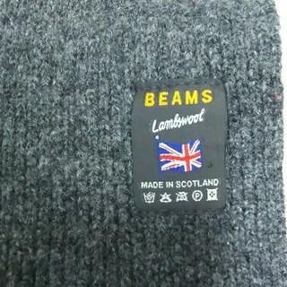 ビームス(BEAMS)のBEAMSスコットランド製ラムウールマフラー(マフラー/ショール)