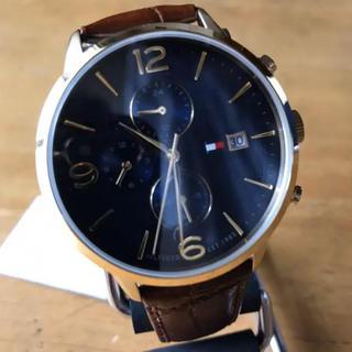 TOMMY HILFIGER - 新品✨トミー ヒルフィガー 腕時計 メンズ 1710359 ネイビー