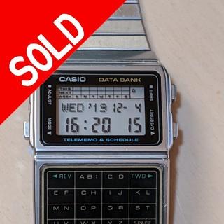 カシオ(CASIO)のカシオデータバンク 稼働中❗(腕時計(デジタル))