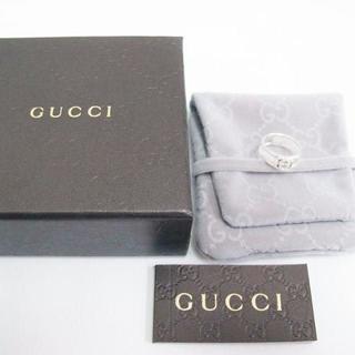 グッチ(Gucci)の☆新品☆未使用☆Gucci グッチ インターロッキング Gリング15号(リング(指輪))