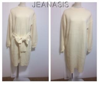 ジーナシス(JEANASIS)のJEANASIS F(フリー) ☆46715(ひざ丈ワンピース)