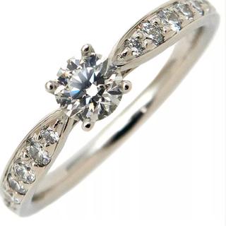 ティファニー(Tiffany & Co.)のティファニー 0.33ct ハーモニー ダイヤモンド リング プラチナ(リング(指輪))