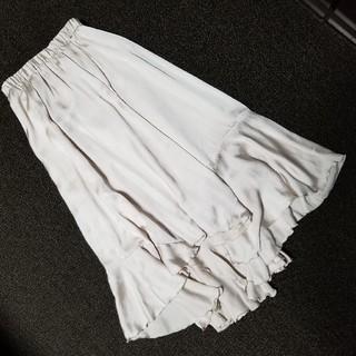 COCO DEAL - 新品未使用COCO DEALココディールシフォンフリルフレアスカートサテン