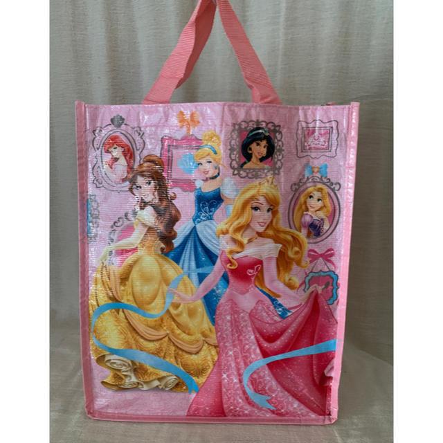 シンデレラ(シンデレラ)のディズニーストア プリンセス エコバッグ トートバッグ シンデレラ オーロラ姫 レディースのバッグ(エコバッグ)の商品写真