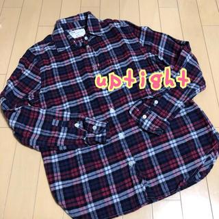 アップタイト(uptight)のUptight チェックシャツ ネルシャツ(シャツ/ブラウス(長袖/七分))