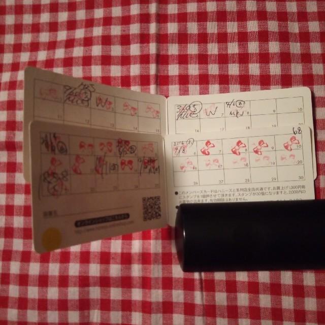 HONEYS(ハニーズ)のハニーズポイントカード チケットの優待券/割引券(ショッピング)の商品写真