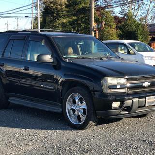Chevrolet - トレイルブレイザー   予備検査付 1ナンバー登録 税金安 ナビゲーター