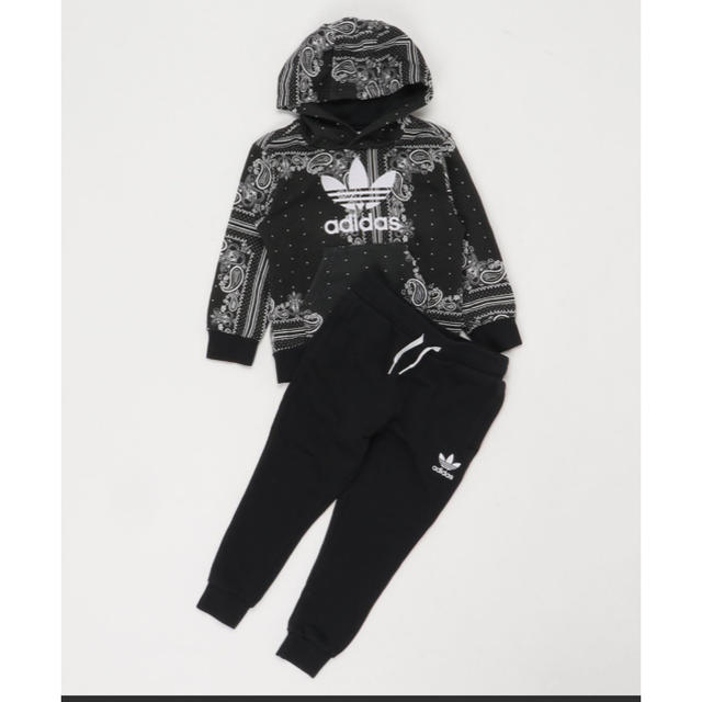 adidas(アディダス)のアディダスオリジナルス セットアップ パーカー キッズ/ベビー/マタニティのキッズ服男の子用(90cm~)(ジャケット/上着)の商品写真