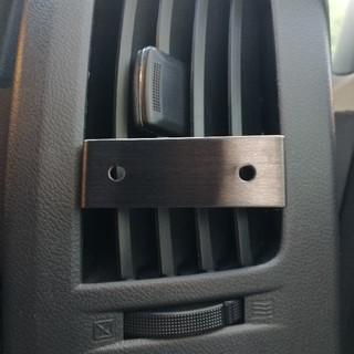 デリカD:5 汎用ドリンクホルダー ステンレスブラケット 運転席 助手席セット