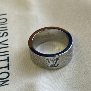 ルイヴィトン(LOUIS VUITTON)の♥LVルイヴィトン♥ リング(指輪) 6号 男女兼用 シルバー(リング(指輪))