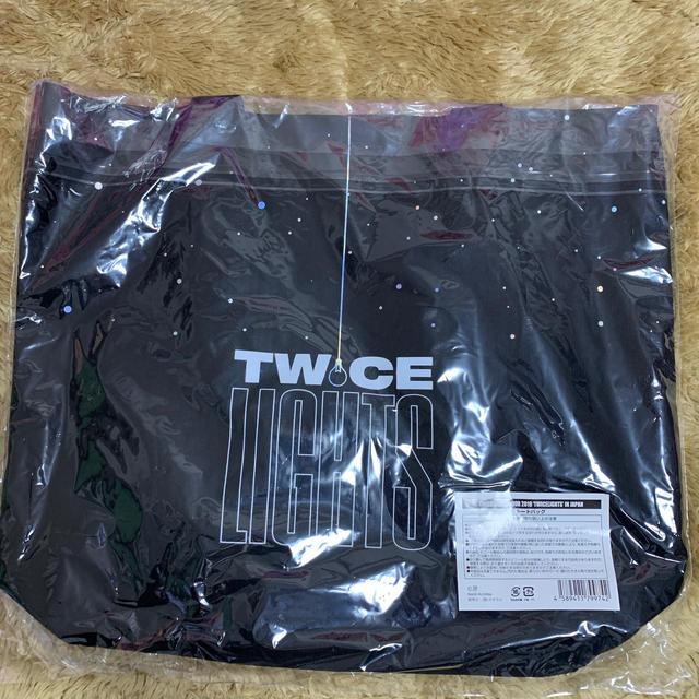 Waste(twice)(ウェストトゥワイス)のTWICE WORLD TOUR2019 'TWICELIGHTS'トートバック エンタメ/ホビーのCD(K-POP/アジア)の商品写真