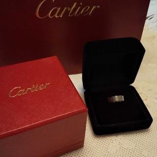 カルティエ(Cartier)のカルティエ♡ ラブリングWG 7号(リング(指輪))