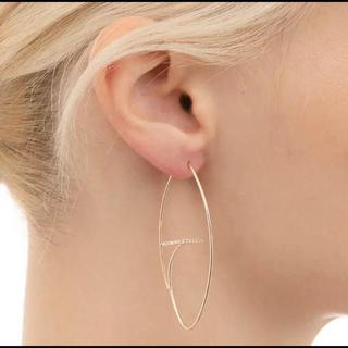 BARNEYS NEW YORK - hirotaka  Diamond Bar Oval Earring ピアス