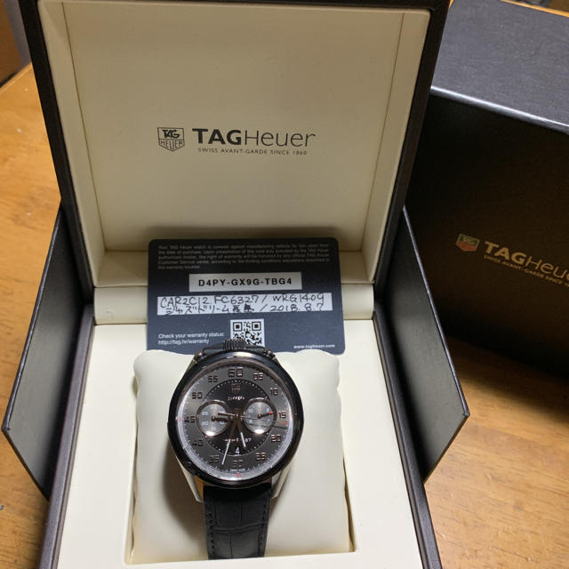 TAG Heuer - タグホイヤーカレラクロノグラフの通販 by けた's shop