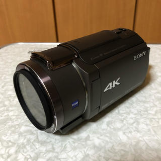 SONY - SONY 4K ビデオカメラ 予備バッテリー、一脚セット