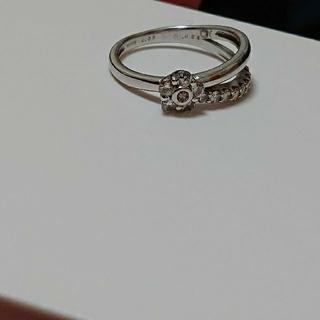 ヨンドシー(4℃)の4℃ダイヤモンド指輪(リング(指輪))