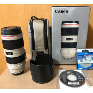 Canon - CanonEF70-200 f2.8L IS Ⅱ  エクステンダーEF1.4×Ⅱ