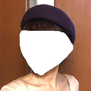 ロキエ(Lochie)のvintage🍇トーク帽(ハンチング/ベレー帽)