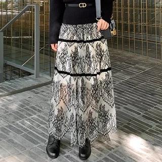 dholic - ライン柄スカート