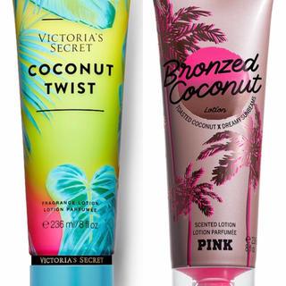 ヴィクトリアズシークレット(Victoria's Secret)のヴィクトリアシークレットハンドクリーム2本新作新品!ココナツ!!(ハンドクリーム)