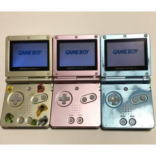 ゲームボーイアドバンス(ゲームボーイアドバンス)のゲームボーイアドバンス SP 本体 3台(携帯用ゲーム機本体)