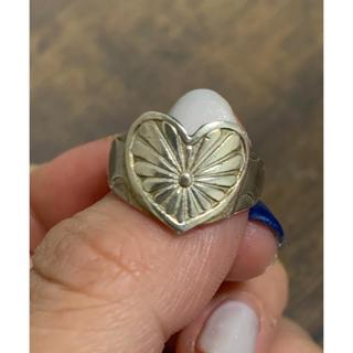 チビジュエルズ(Chibi Jewels)のチビジュエルズ Chibi jewels ハート コンチョ シルバーリング(リング(指輪))