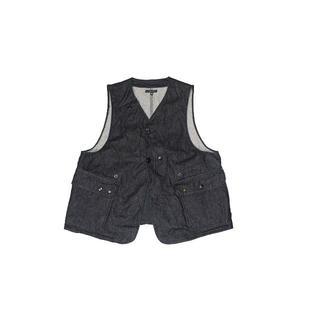 エンジニアードガーメンツ(Engineered Garments)のEngineered Garments UPLAND VEST DENIM M(ベスト)