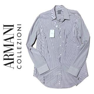 アルマーニ コレツィオーニ(ARMANI COLLEZIONI)の定価4万5千!新品 ARMANI COLLIZIONI ワイシャツ 39 M(シャツ)