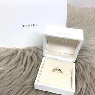 タサキ(TASAKI)のタサキ ダイヤモンド 婚約指輪 PT950(リング(指輪))
