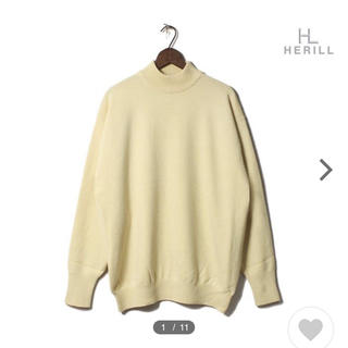 COMOLI - HERILL ヘリル ニット カシミヤ モックネック セーター
