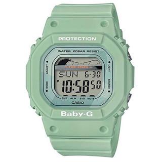 カシオ(CASIO)の【新品】カシオ 腕時計 ベビージー G-SHOCK レディース グリーン(腕時計(デジタル))