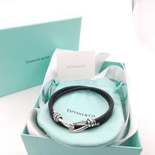 Tiffany & Co. - 希少 美品 ティファニー ノットダブル ブレスレット メンズ CQ7