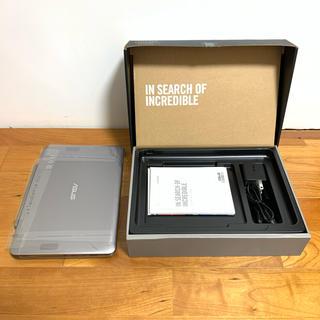 エイスース(ASUS)の【美品】ASUS 2in1パソコン T101HA 10.1型 タブレット ノート(ノートPC)