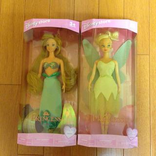 Barbie - 【商品説明必読】アリエル・ティンカーベル バービー人形2体セット
