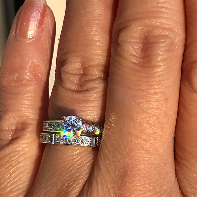 Cartier(カルティエ)のるんるん様専用!カルティエ ソリテール 1895 ダイヤリング 0.43ct! レディースのアクセサリー(リング(指輪))の商品写真