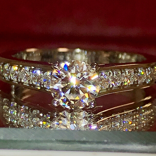 Cartier - お値下げ!カルティエ ソリテール 1895 ダイヤリング 0.43ct!