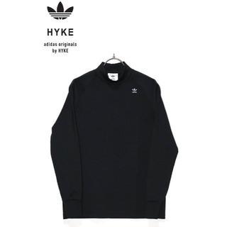 ハイク(HYKE)の正規品HYKE×adidasコラボジャージ/ブラック/S(カットソー(長袖/七分))