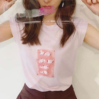 SLY - 新木優子着用 SLY Tシャツ