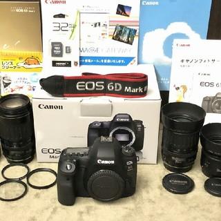Canon - 長期保証 新同2354ショット Canon EOS 6D Mark II 純正レ