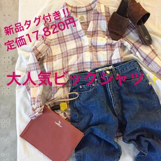 グリード(GREED)の新品タグ付☆GREED BED&BREAKFAST☆Variety Bigシャツ(シャツ/ブラウス(長袖/七分))